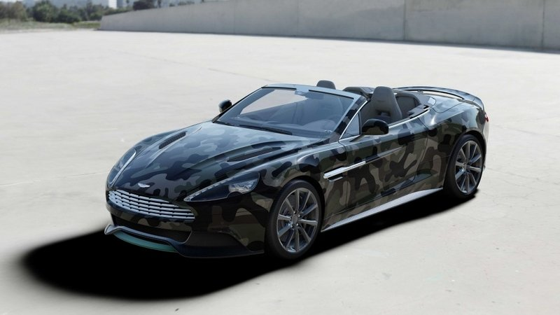 One-Off Aston Martin Vanquish Volante Auctioned For Charity