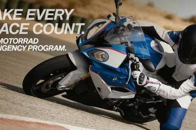 BMW Motorrad Offering $1M In Contingency Money To Promising Racers