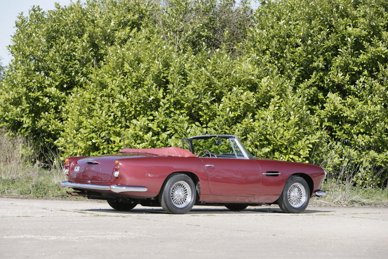 Peter Ustinov's 1962 Aston Martin DB4 Convertible Sold For $2 Million