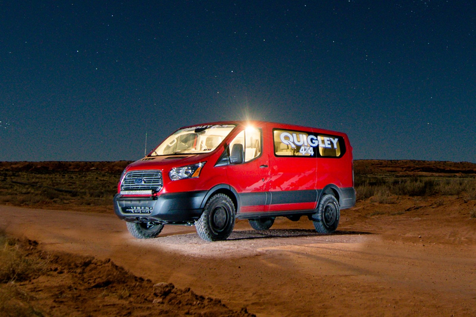 Quigley Motors U0026 39  4x4 Ford Transit Takes On The 2015 Easter