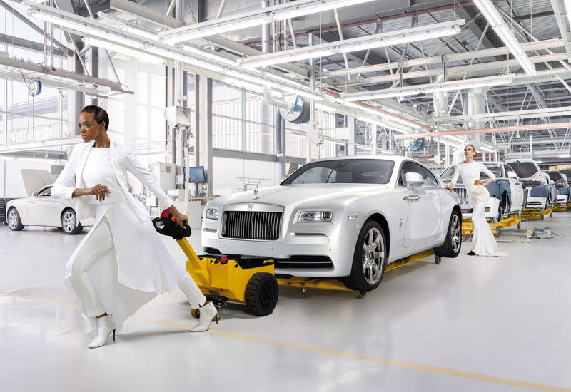 "2015 Rolls Royce Wraith ""Inspired by Fashion"""