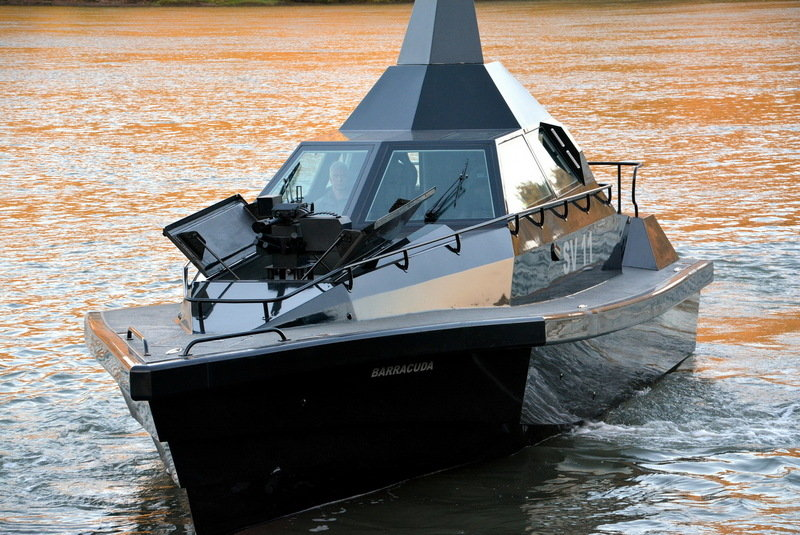 Safehaven Marine Introduces The Barracuda SV11 Stealth Boat