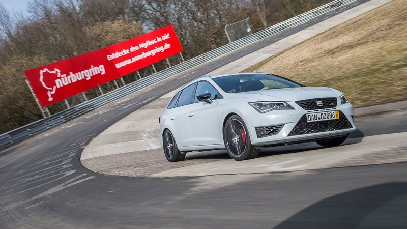 Seat Leon ST Cupra 280 Is The Fastest Estate At Nurburgring