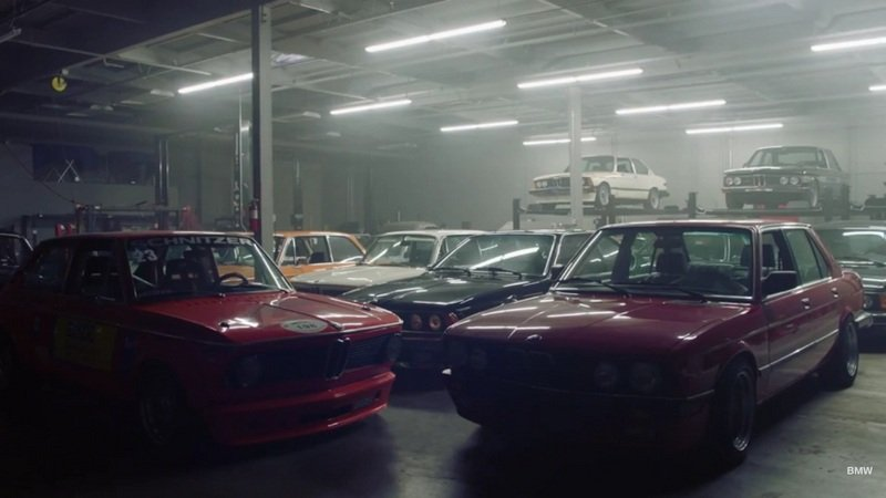Secret BMW Collector Makes Us Jealous: Video