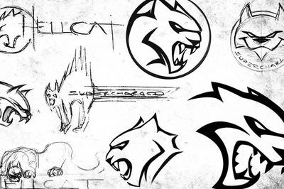 The Evolution Of The Hellcat Logo
