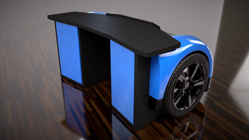 These Racing-Inspired Desks Are Perfect Gifts