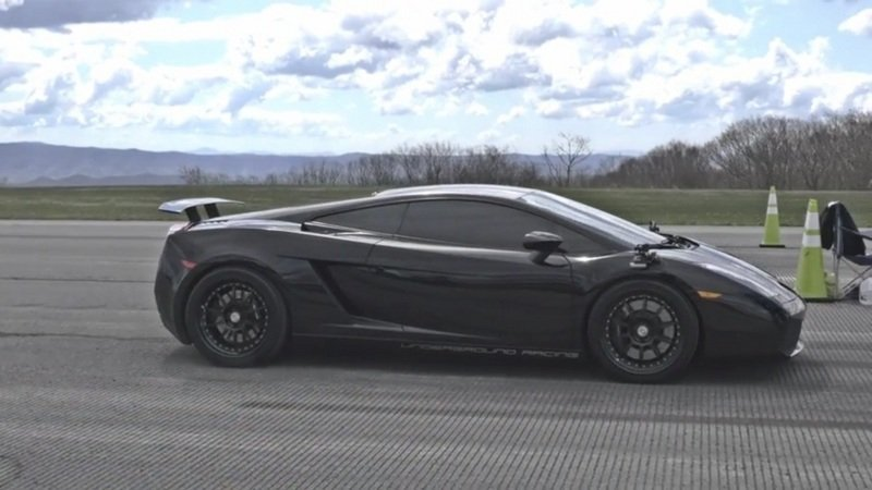 Underground Racing TT Gallardo Is Incredibly Fast: Video