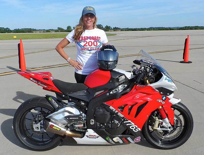 Valerie Thompson Vying For Another Motorcycle Land Speed Record