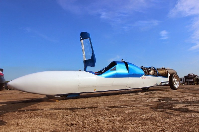 Jet Reaction Bent On Reaching 400 MPH At Bonneville Salt Flats