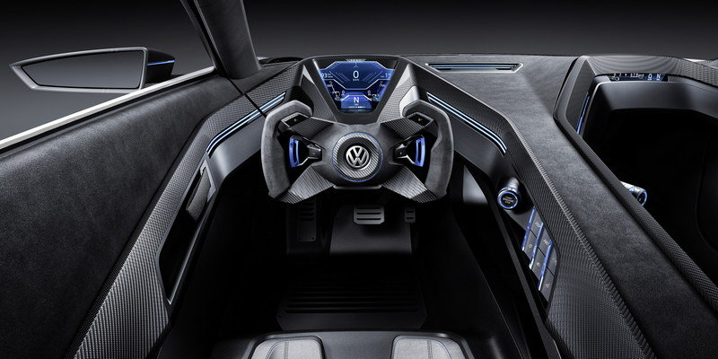 2015 Volkswagen Golf GTE Sport Concept Interior Computer Renderings and Photoshop - image 630141