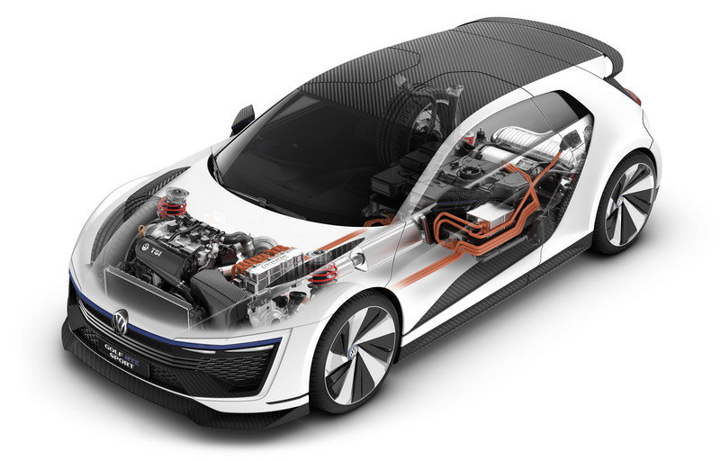 2015 Volkswagen Golf GTE Sport Concept High Resolution Exterior Computer Renderings and Photoshop - image 630142