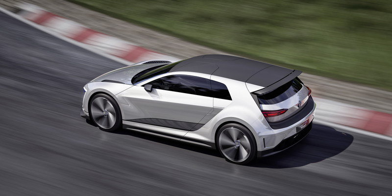 2015 Volkswagen Golf GTE Sport Concept High Resolution Exterior Computer Renderings and Photoshop - image 630135