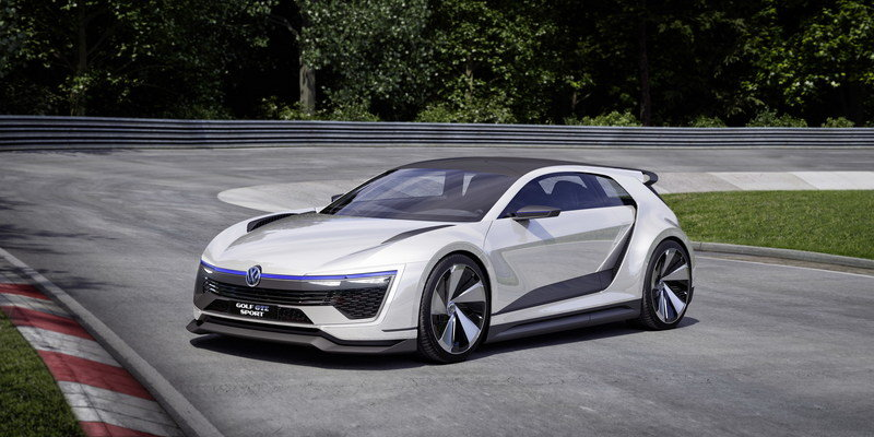 2015 Volkswagen Golf GTE Sport Concept High Resolution Exterior Computer Renderings and Photoshop - image 630136