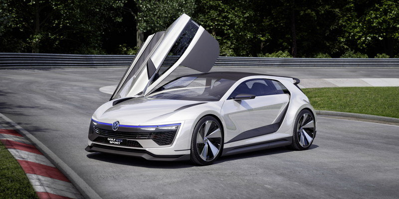 2015 Volkswagen Golf GTE Sport Concept High Resolution Exterior Computer Renderings and Photoshop - image 630137