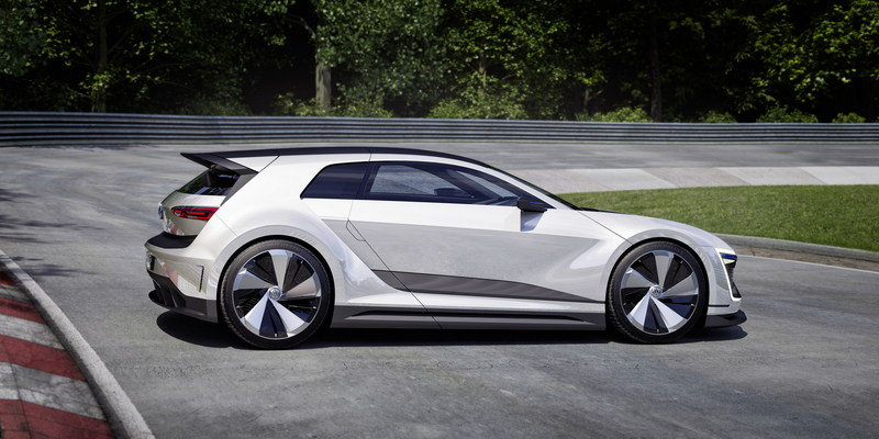 2015 Volkswagen Golf GTE Sport Concept High Resolution Exterior Computer Renderings and Photoshop - image 630138