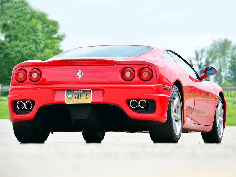 1999 - 2004 Ferrari 360 Modena High Resolution Exterior - image 632818