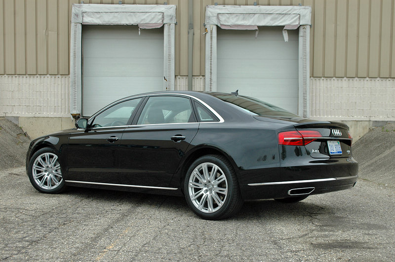 2015 Audi A8 - Driven High Resolution Exterior Test drive - image 632131