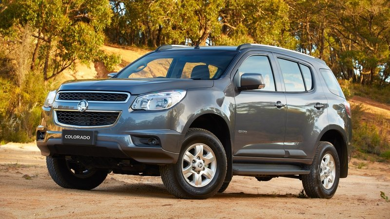 2015 Holden Colorado 7