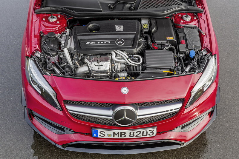 2015 Mercedes-AMG A 45 4MATIC | Top Speed