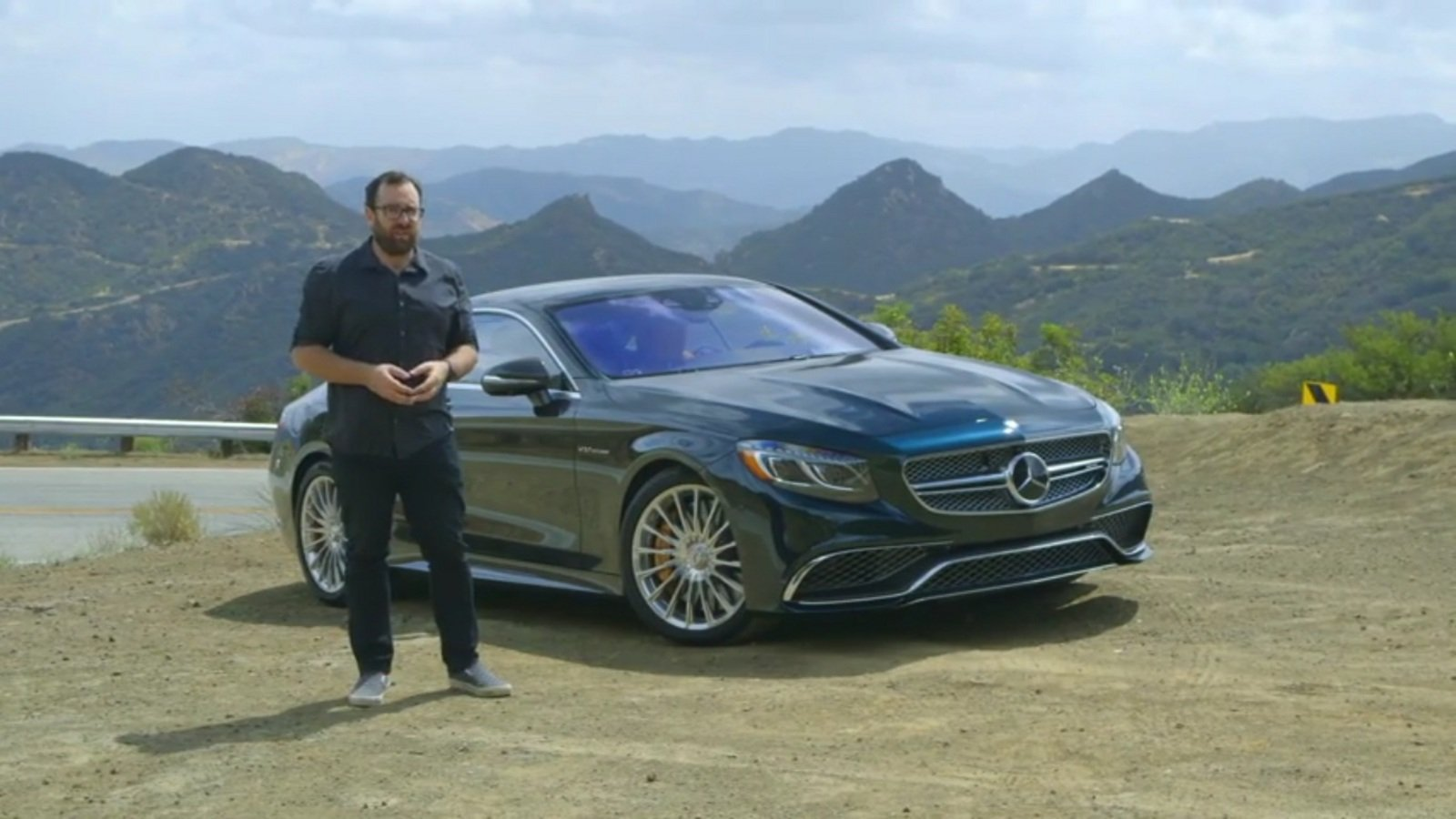 2015 mercedes benz s65 amg coupe driving review video for Mercedes benz rt 22