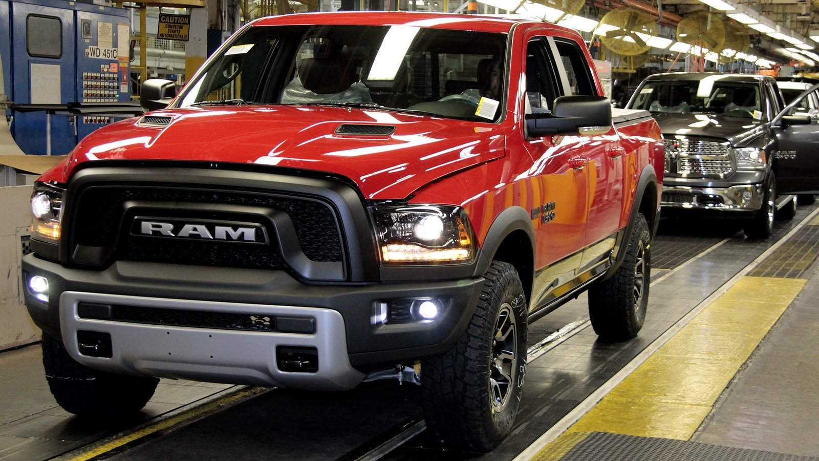 2015 Ram 1500 Rebel Goes Into Production News - Top Speed