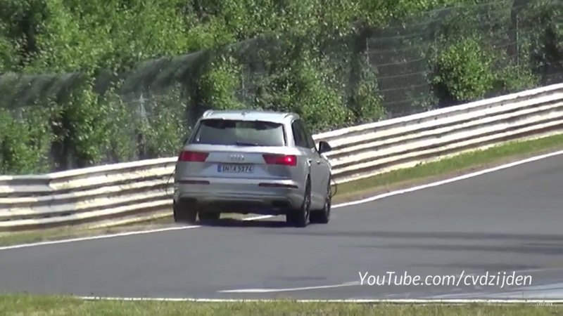 2016 Audi SQ7 Crashes During Nurburgring Test: Video