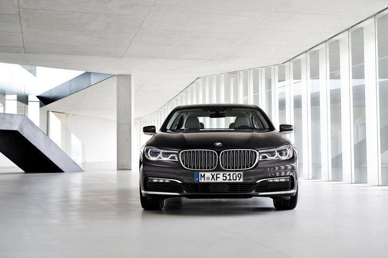 BMW Officially Unveiled The New Generation 7-Series