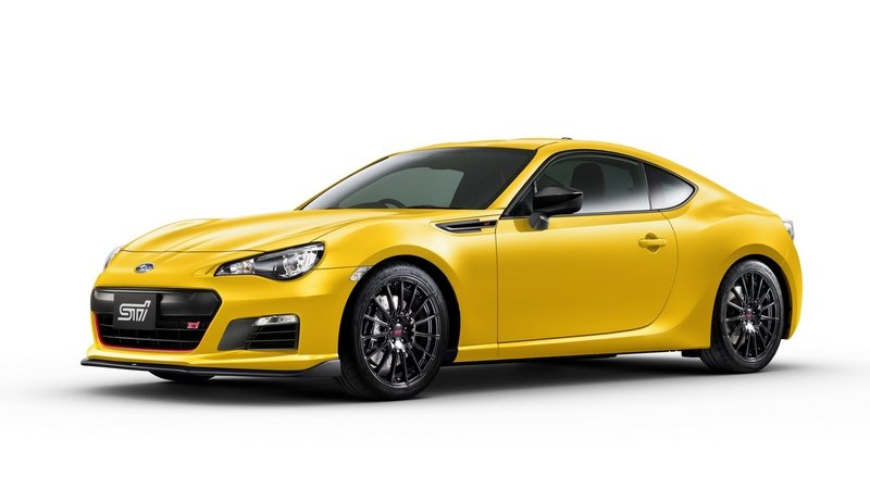 Subaru Trademarks BRZ tS For The U.S.