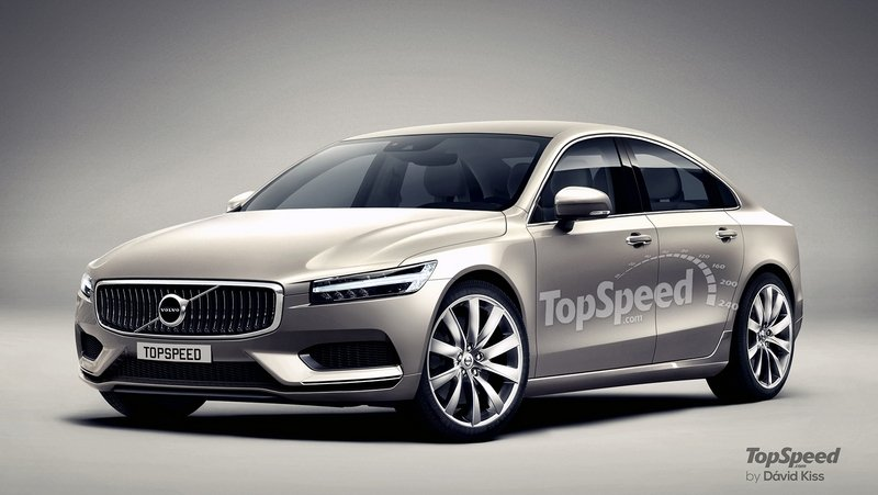2017 Volvo S90 Exterior Exclusive Renderings Computer Renderings and Photoshop - image 635453