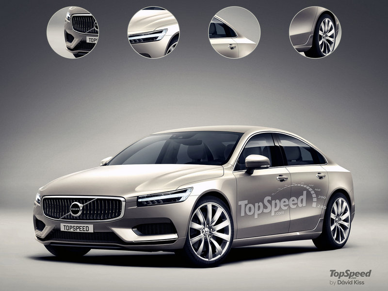 2017 Volvo S90 Exterior Exclusive Renderings Computer Renderings and Photoshop - image 635452