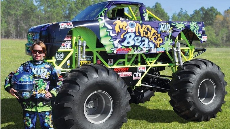 Pint-Sized Monster Truck Is Perfect For The Kids