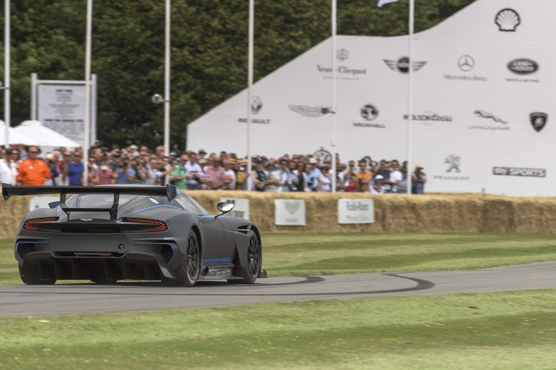 Aston Martin Vulcan Made Its Public Track Debut at Goodwood