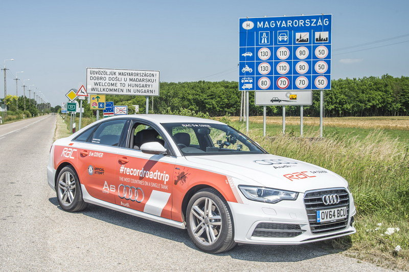 Audi A6 TDI Ultra Breaks World Record By Visiting 14 Countries On One Tank