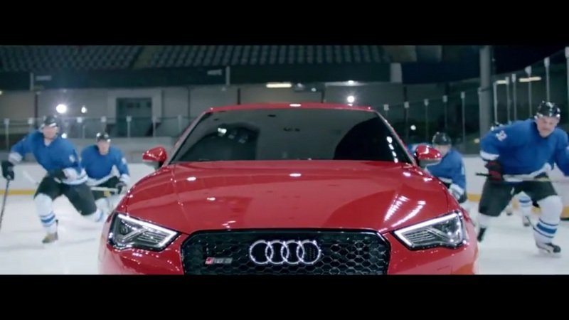 "Audi RS 3 ""Ice Hockey"" Commercial: Video"