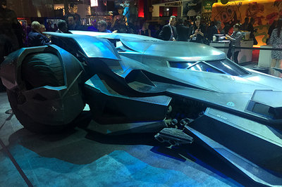 Batman's New Ride Officially Unveiled — Is it a HYBRID?? Exterior - image 633318