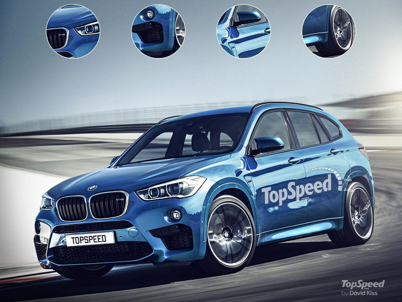 2017 BMW X1 M Exterior Exclusive Renderings Computer Renderings and Photoshop - image 632752