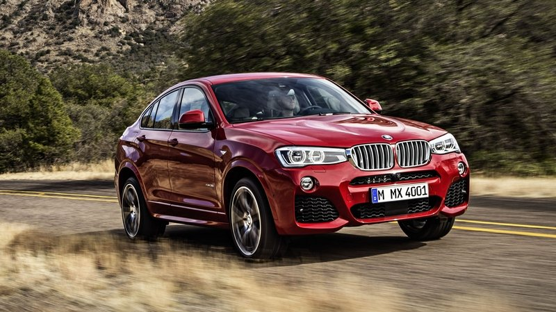 BMW X4 M40i is Set to Arrive in 2016