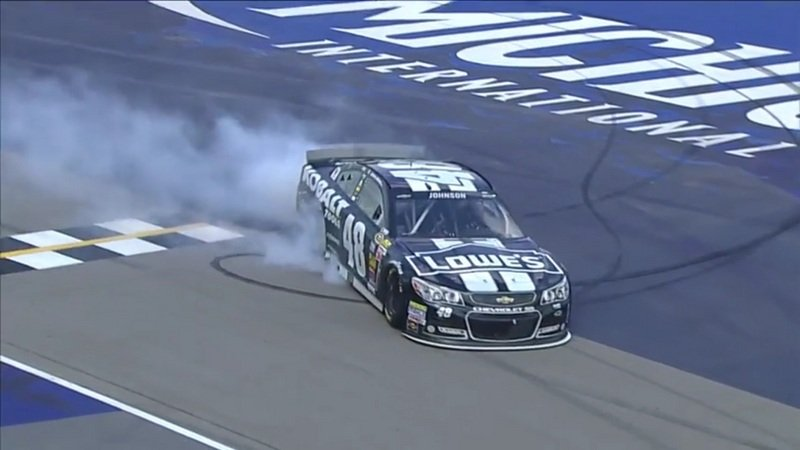 Celebrate National Donut Day With NASCAR Chevy SS: Video