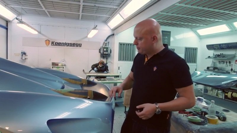 Get A Closer Look At The Koenigsegg Regera Wing: Video