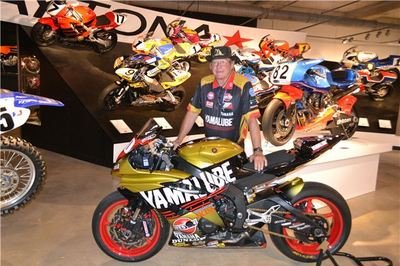 Dane Westby's #00 Yamaha YZF-R6 Finds New Home At The Barber Vintage Motorsports Museum