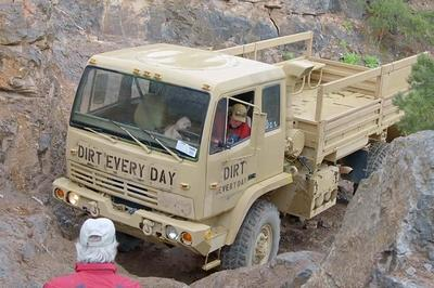 'Dirt Every Day' Off-Roads A LMTV Military Surplus Truck: Video