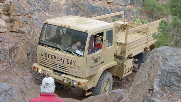 Chevy Military Trucks For Sale >> 'Dirt Every Day' Off-Roads A LMTV Military Surplus Truck: Video News - Top Speed