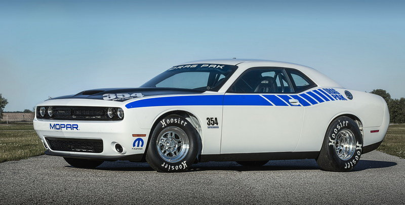 2016 Dodge Mopar Challenger Drag Pak High Resolution Exterior - image 635219