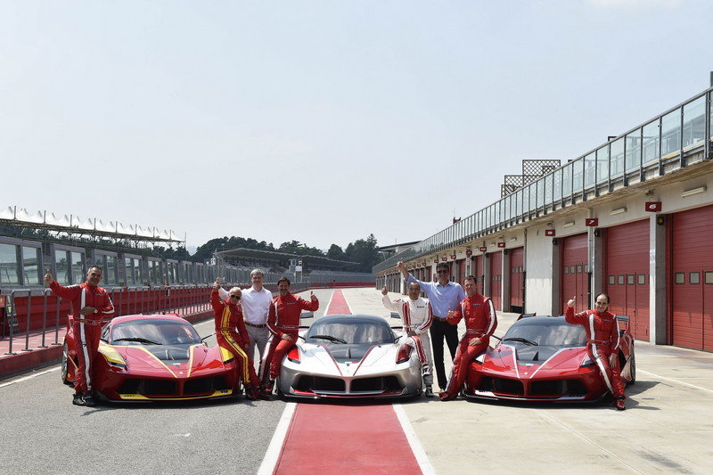 Ferrari FXX K Finishes Its Testing Session