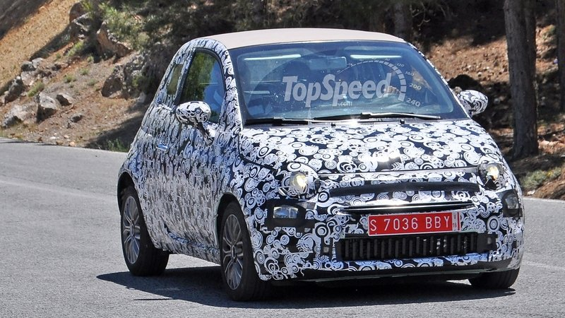 Fiat 500 Facelift Caught Testing: Spy Shots
