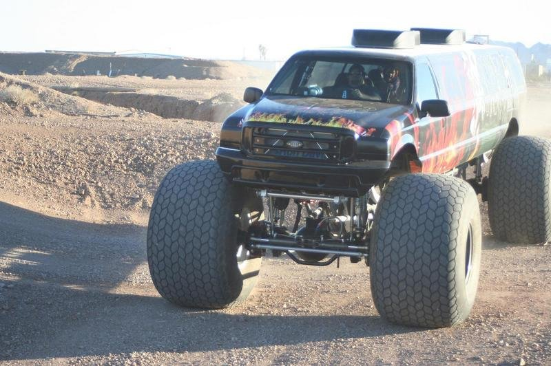 Ford Excursion Monster Truck Can Be Yours For $1 Million