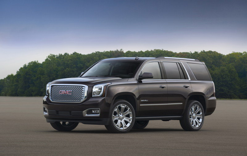 2016 GMC Yukon High Resolution Exterior - image 633583