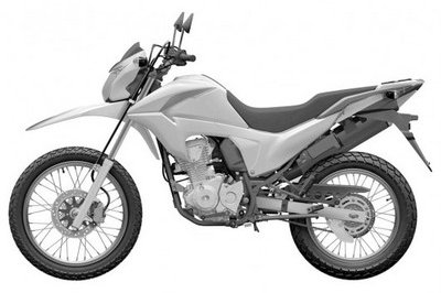 Honda Files Patent For New SuperMoto Bike
