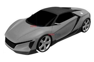 Is This The Acura NSX Roadster? Exterior Computer Renderings and Photoshop - image 633329