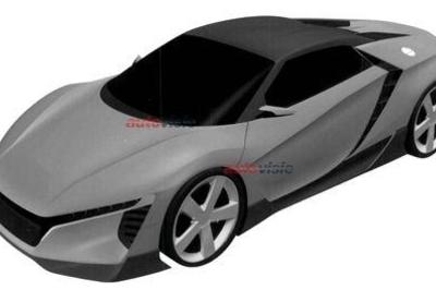 Is This The Acura NSX Roadster?